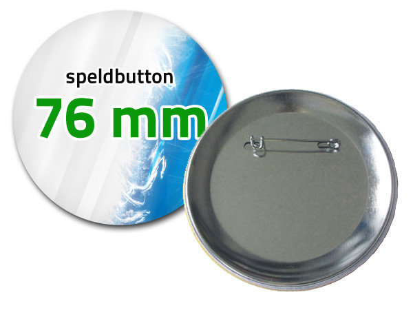 76 mm Speldbutton