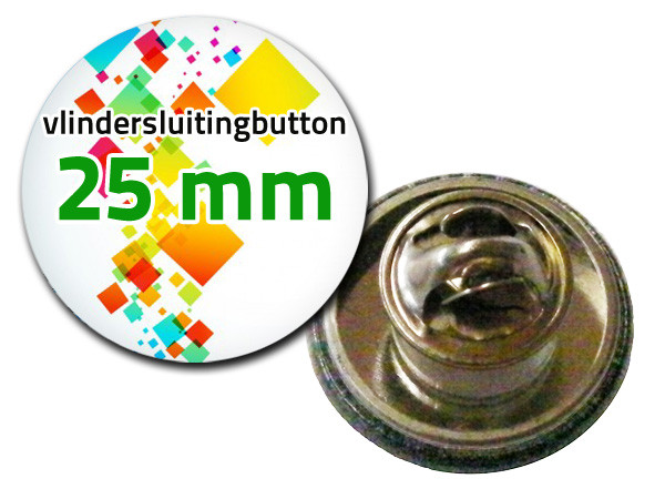 25 mm Vlindersluiting
