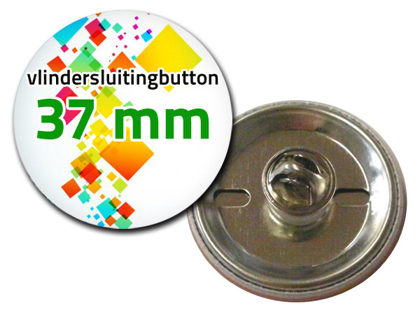 37 mm Vlindersluiting