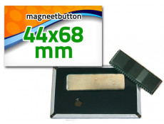 44x68mm Magneetbutton dubbel