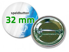32 mm Speldbutton